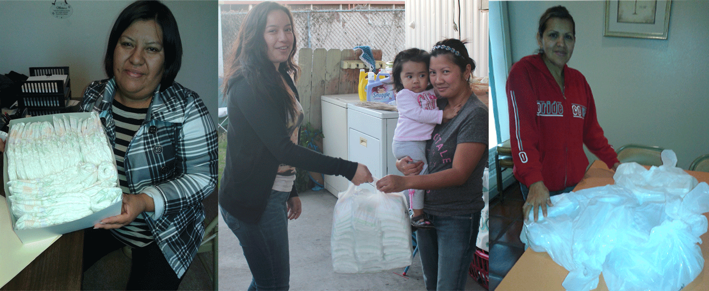 Diapers, Drywall and Other Donations Help Families Live the American Dream