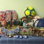 Mattel and Nike Donations For Birthday Bags