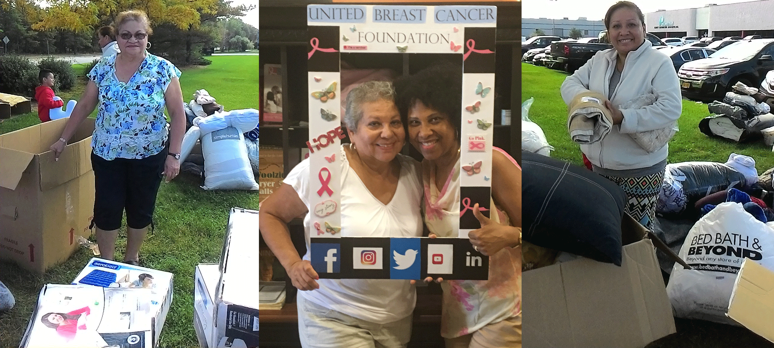 Breast Cancer Patients are Treated to New Home Goods