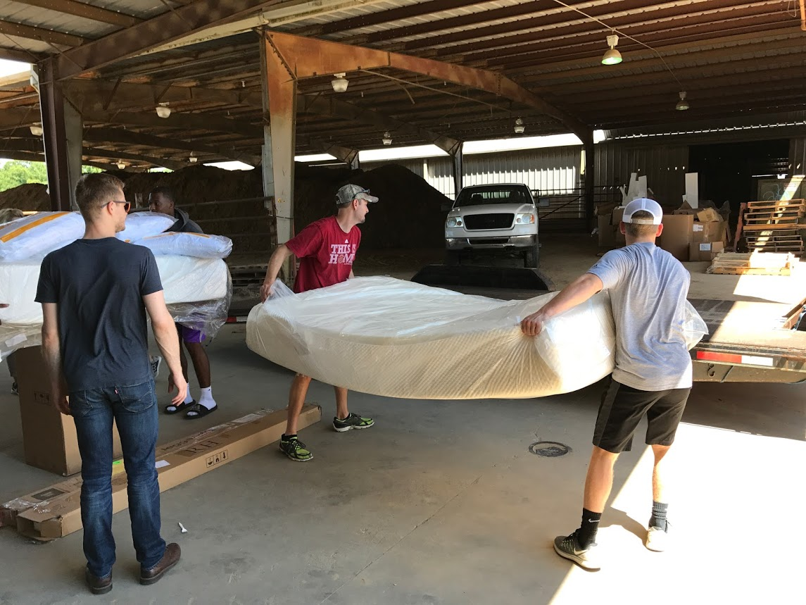 Tempur-Pedic Donation Renews Hope for Flood Victims