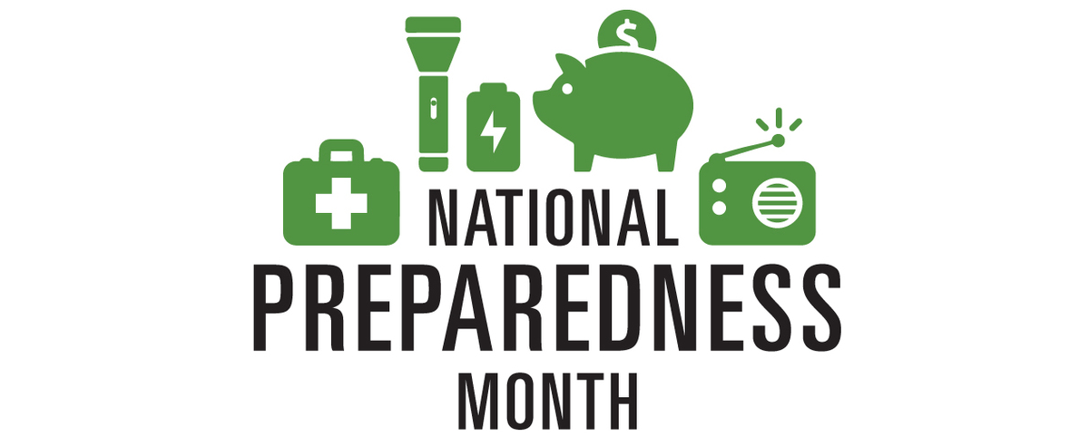 National Preparedness Month- Create Your Plan!