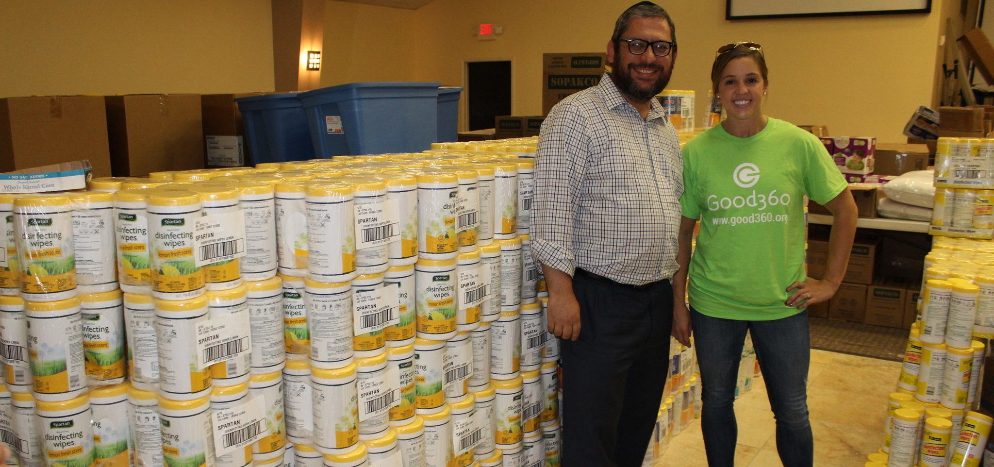 Rockline Disinfectant Wipes Aid in Hurricane Harvey Recovery