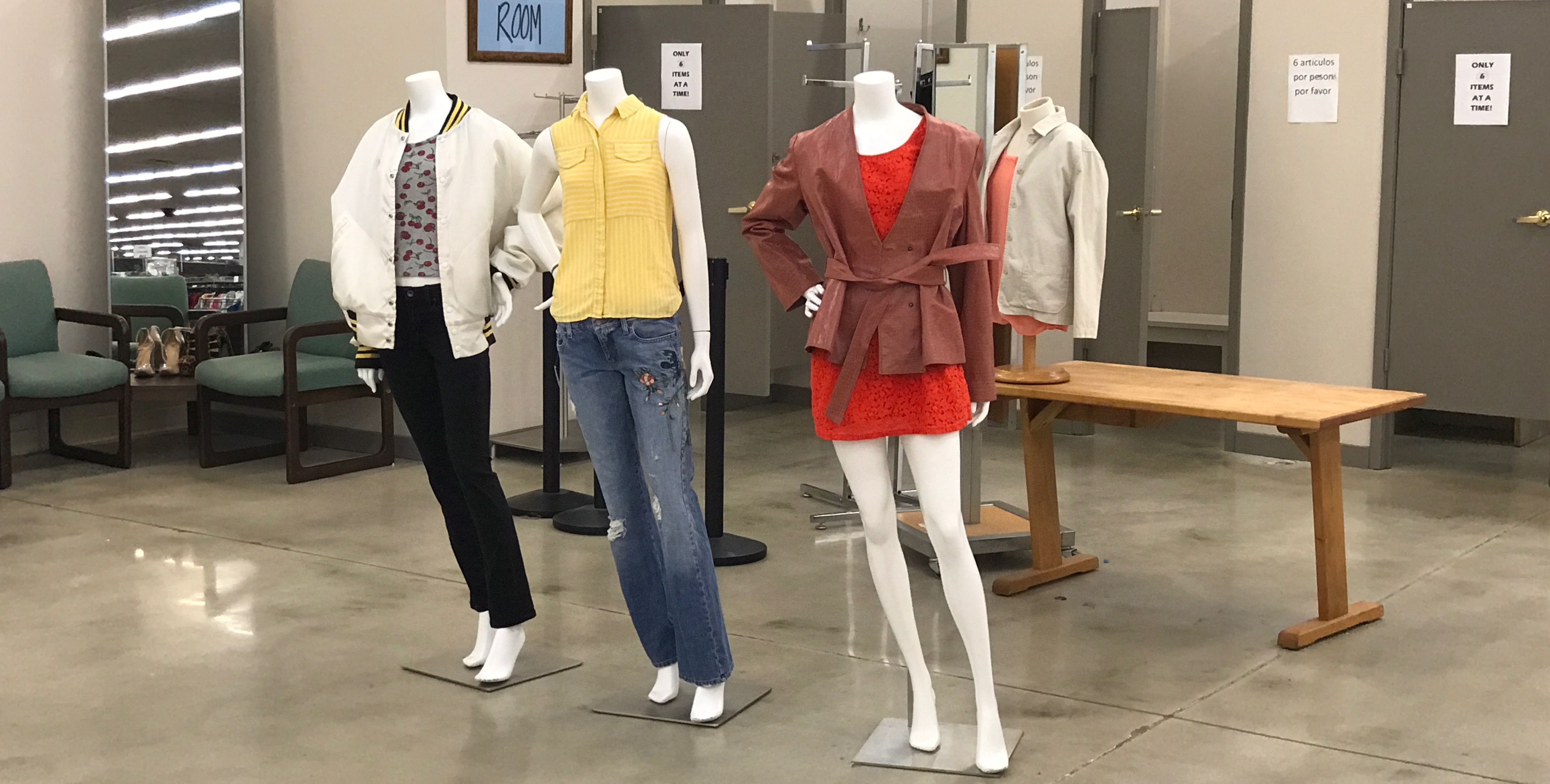 Ann Taylor Store Fixtures Boost TROSA Store to the Next Level