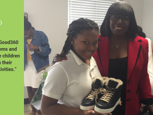 edcae6836b Shoe Donation Helps Future Church Leaders with Everyday Tasks