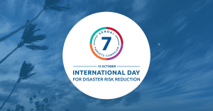Pledging to Support the International Day for Disaster Risk Reduction