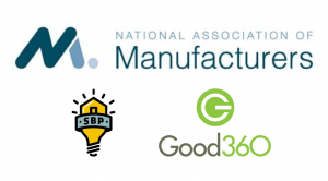 The National Association of Manufacturers Announces Partnership with National Nonprofits SBP and Good360
