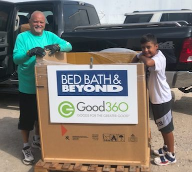 Bed Bath & Beyond Brings Comfort to Houston's Homeless