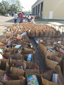 Distribution Event Provides Hope to Community Damaged by Back to Back Hurricanes