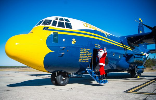 Santa Delivers Toys and Smiles to Lake Charles