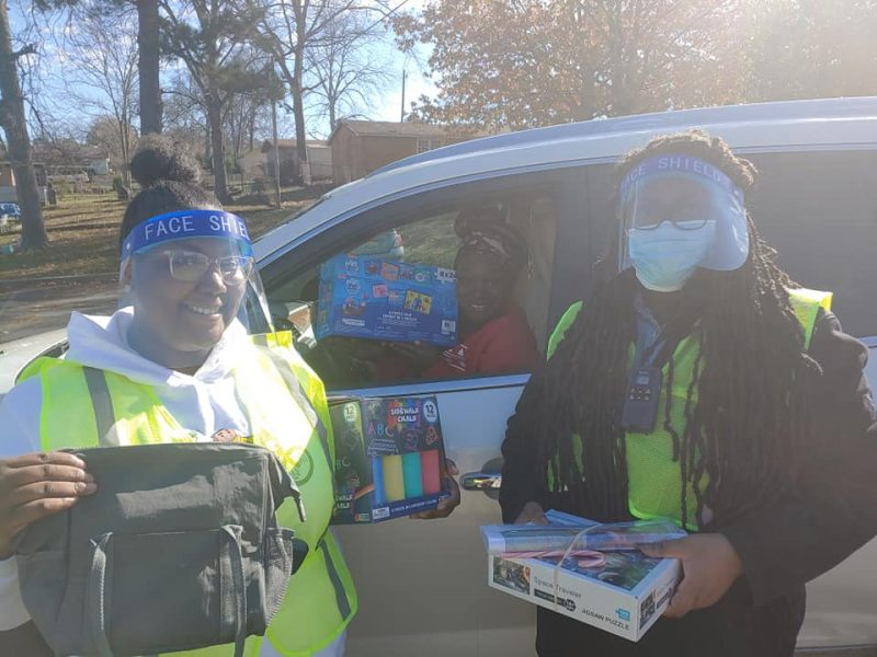 Amazon Donations Help Support Birmingham Residents Through Pandemic