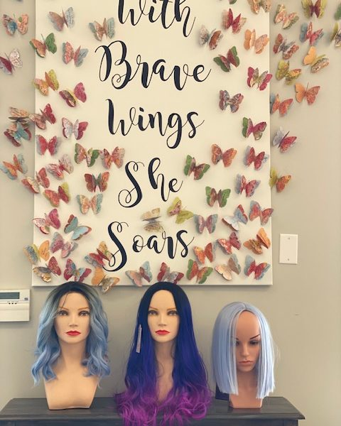 Donated Wigs Empower Women Going Through Cancer Treatment