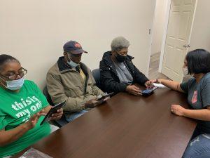 Donated Tablets Help Senior Citizens Register for Vaccine