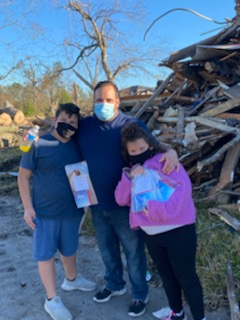 Hollander Donations Help Families Recovering from 2020 Hurricanes