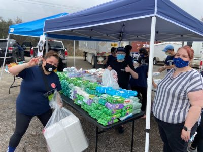Donations Provide Relief from Texas Winter Storms