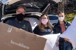 United Way Distribution Event Provides Bedding Essentials for Women's Shelters