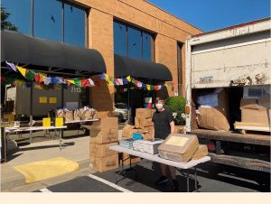 Hollander Donations Provide Bedding Items for a Community in Need