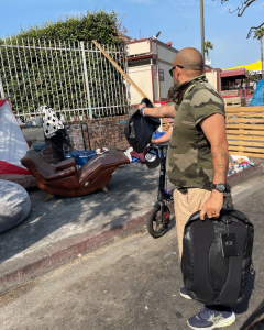 Oakley Luxottica Products Provide New Backpacks and Clothing for a Homeless Community