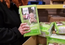 Diaper Donation from Seventh Generation Helps Flint's Babies Stay Healthy