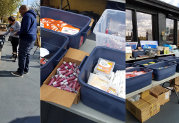 Veterans Treated to Goods from Several Popular Donors