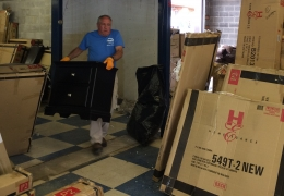 Furniture Donation Renews Hope for Flood Victims
