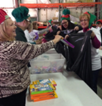 Good360 Helps Homeless Shelter Bring a Little Bit of Christmas to Children in Need