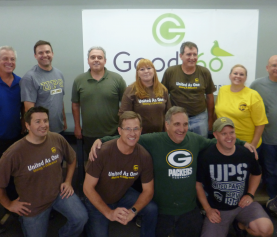 UPS Volunteers Make Their Mark at Our Omaha National Distribution Center