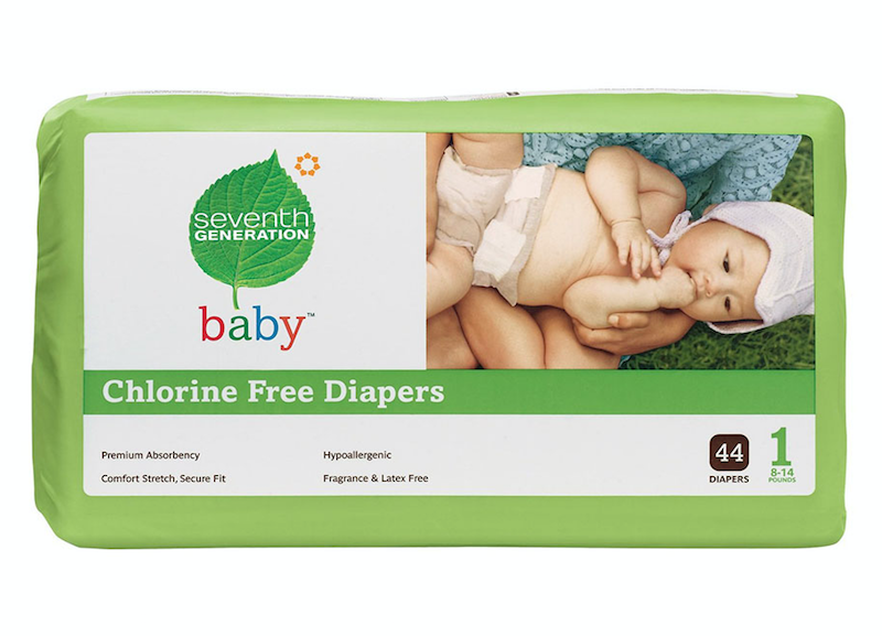 Seventh Generation Infant Diapers – (Case of 724 diapers)