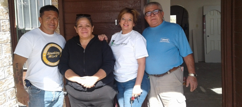 Rebuilding Together Gives New Hope to El Paso Family
