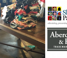A&F Display Tables Are Given New Life at Shelter Partnership