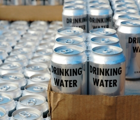 Anheuser-Busch Sends 250,000 Cans Of Water To Flood Victims