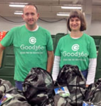 Good360 Distributes Personal Care Kits to Veterans in Omaha